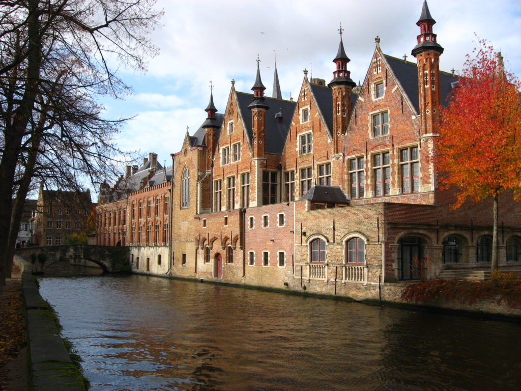 Brugge is where the time stands still