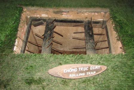 Traps in Cu Chi tunnels