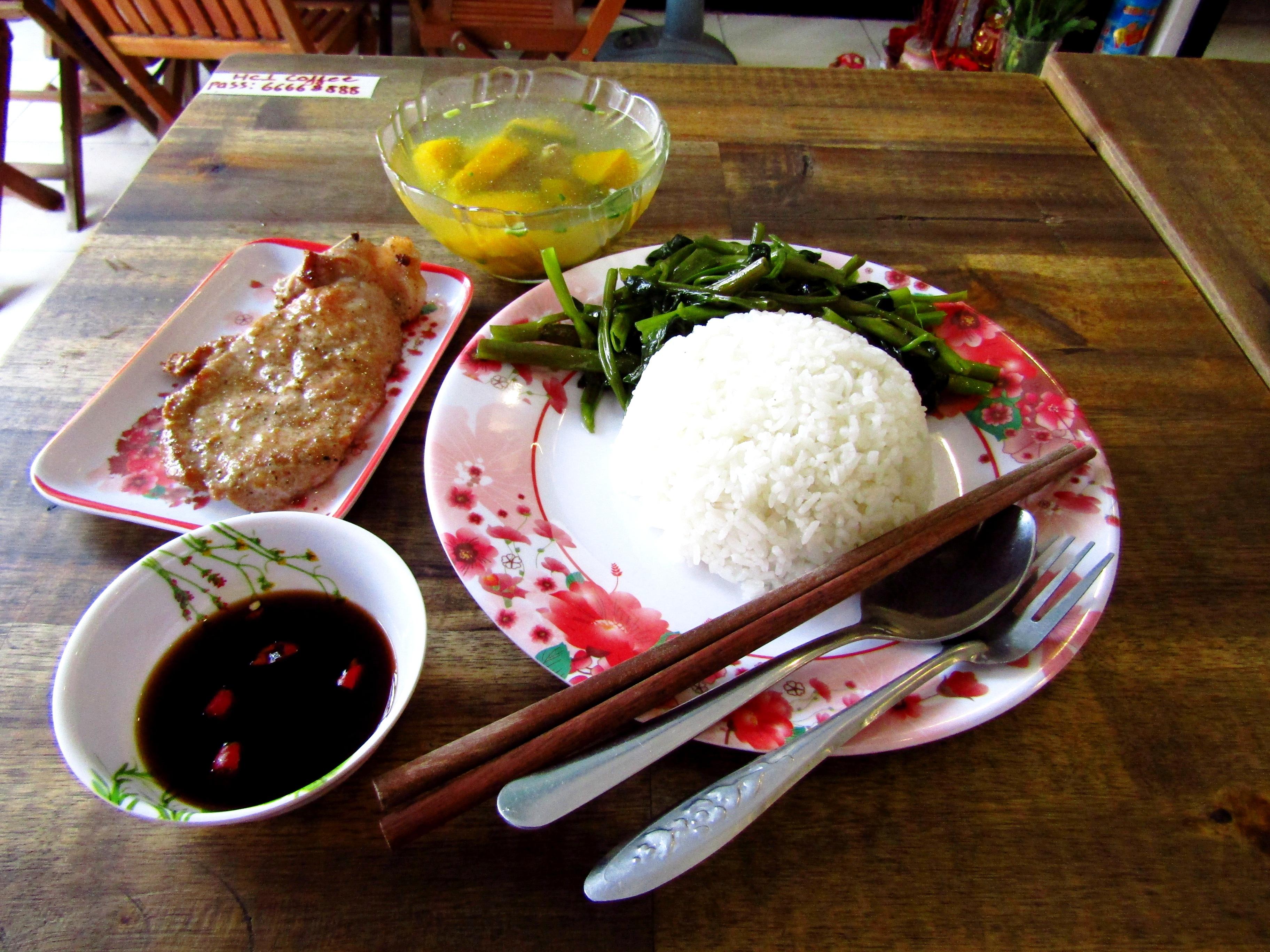 Set menu Vietnamese style