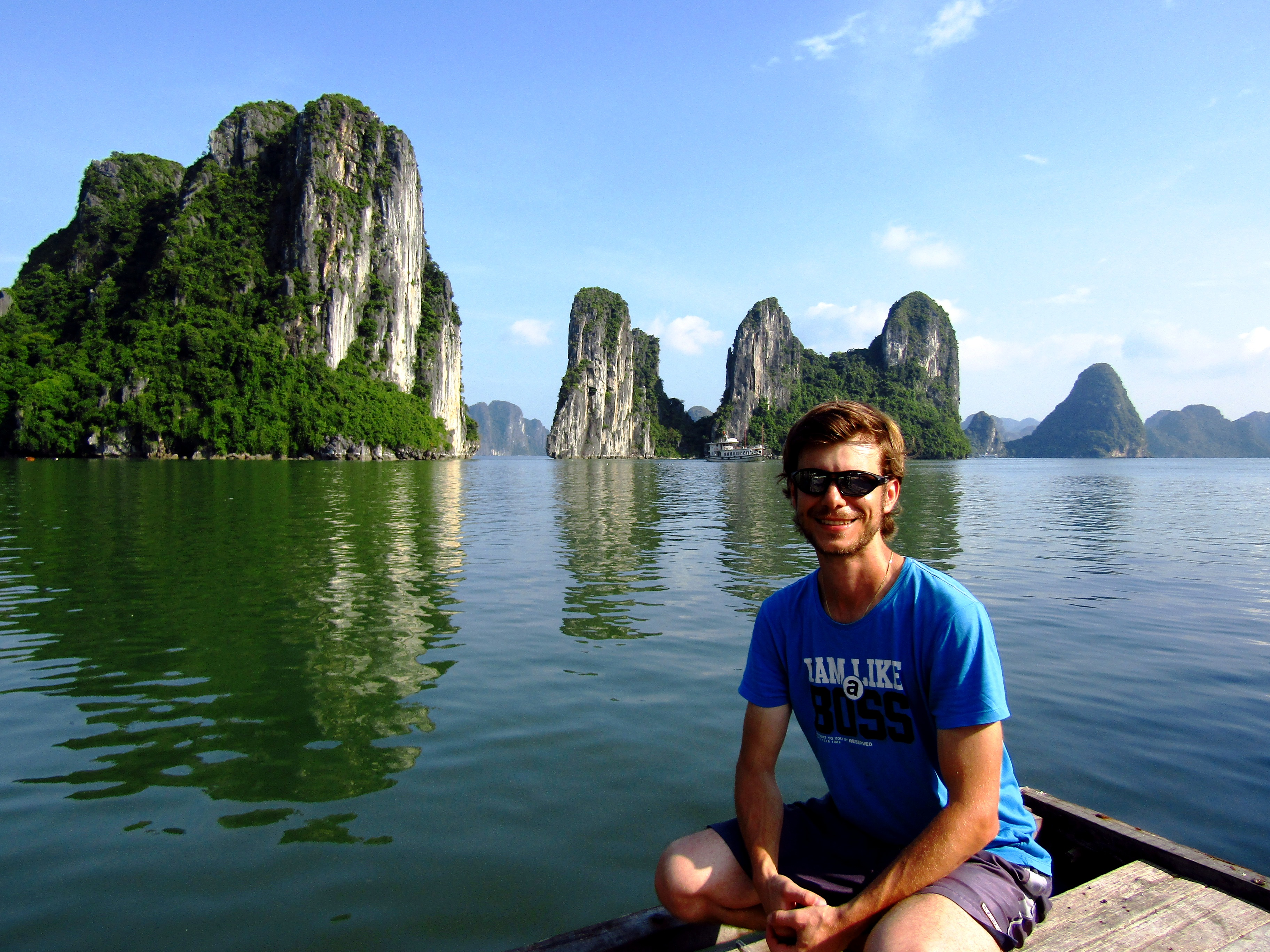 The one and only stunning Halong Bay