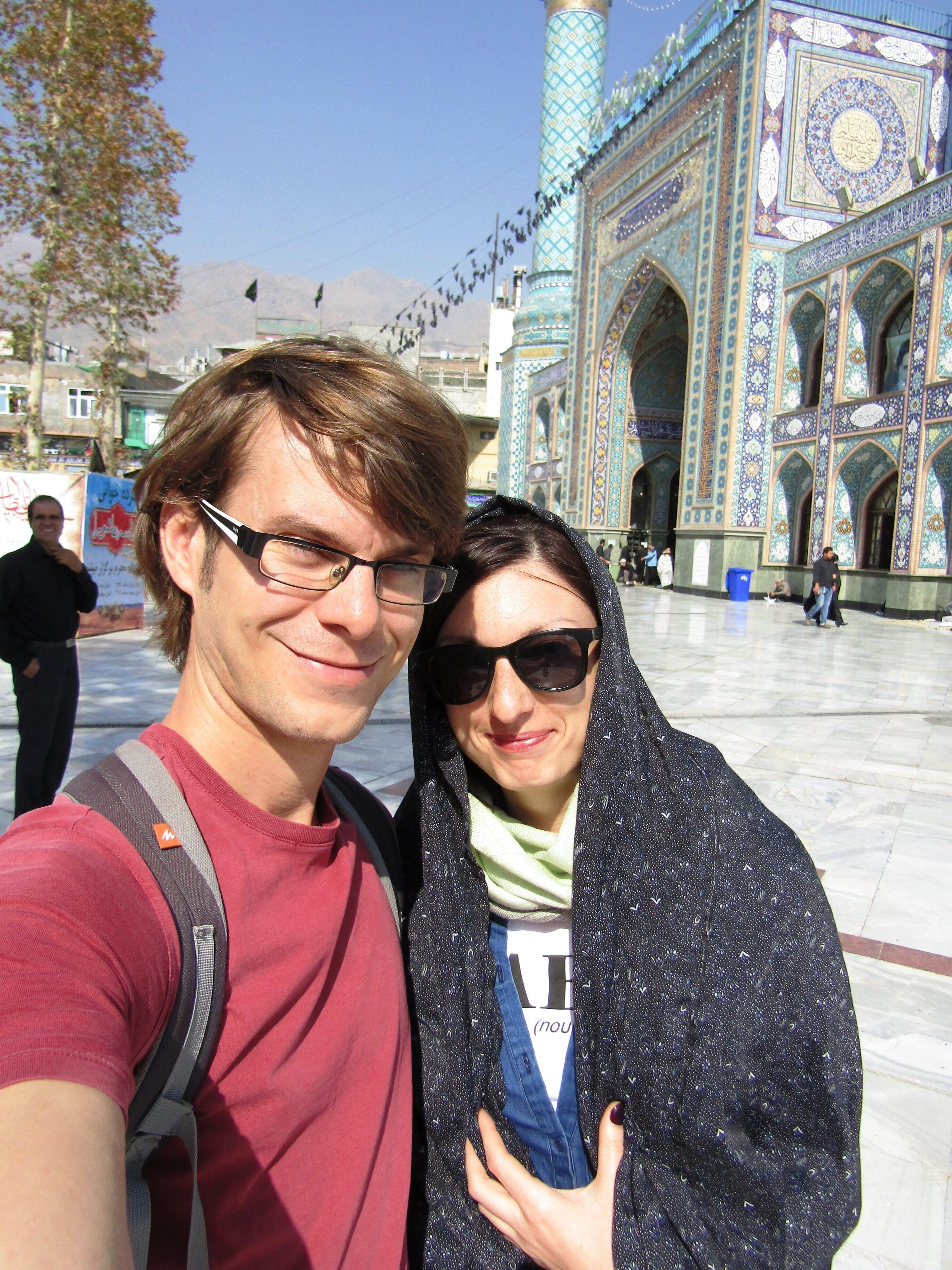 Imamzadeh Saleh, a mosque at Tajrish Square