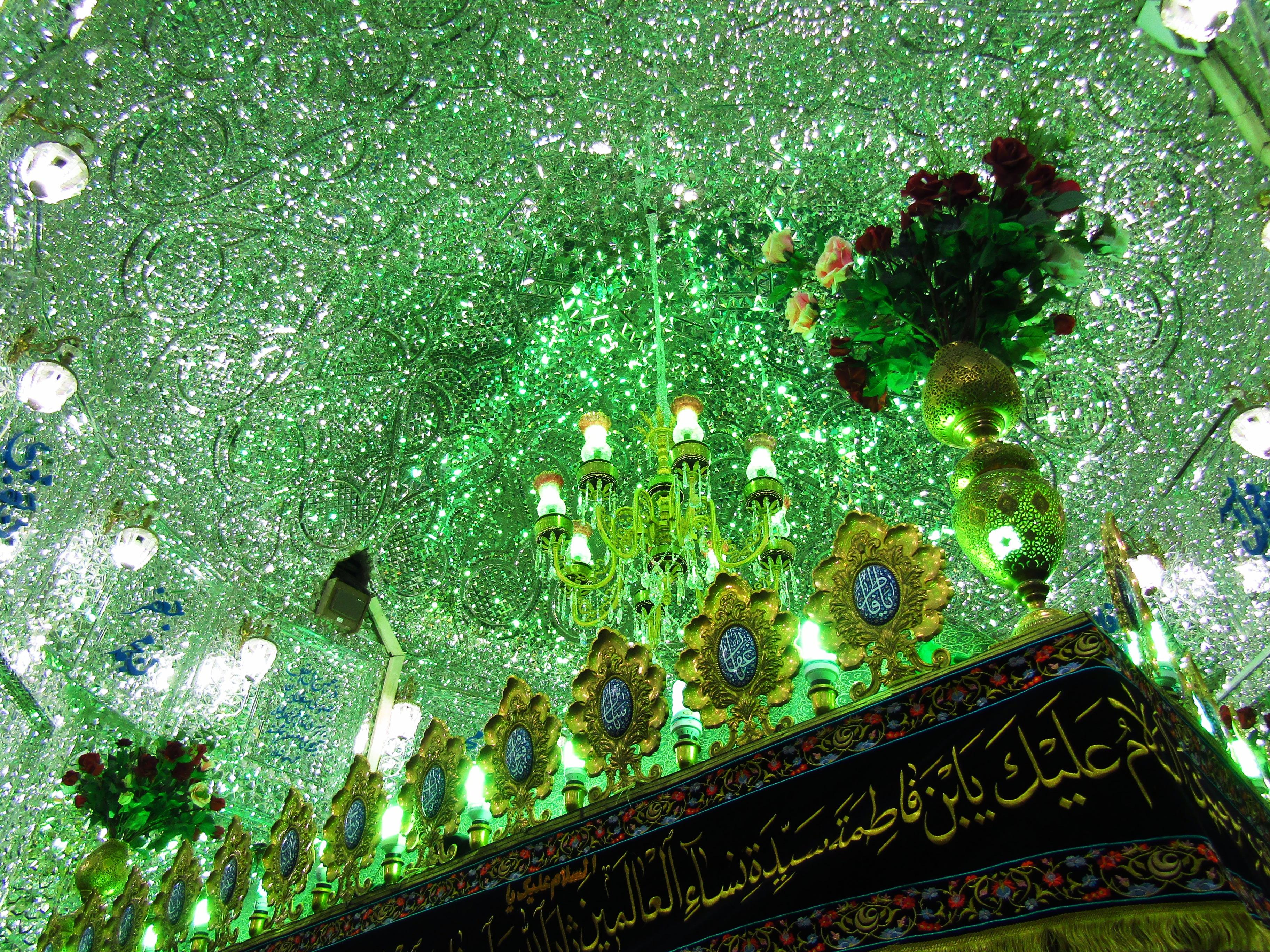 In Imamzadeh Saleh, a mosque at Tajrish Square