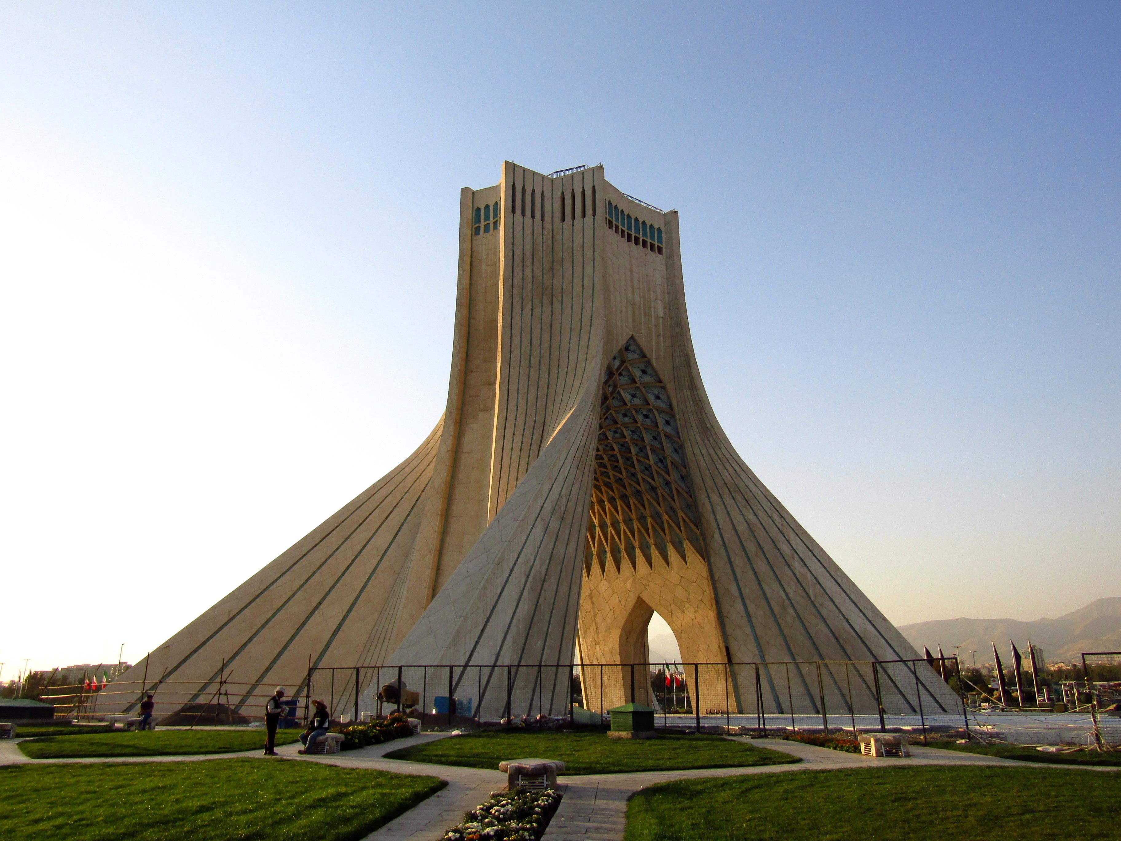 Azadi Tower, a symbol of Tehran