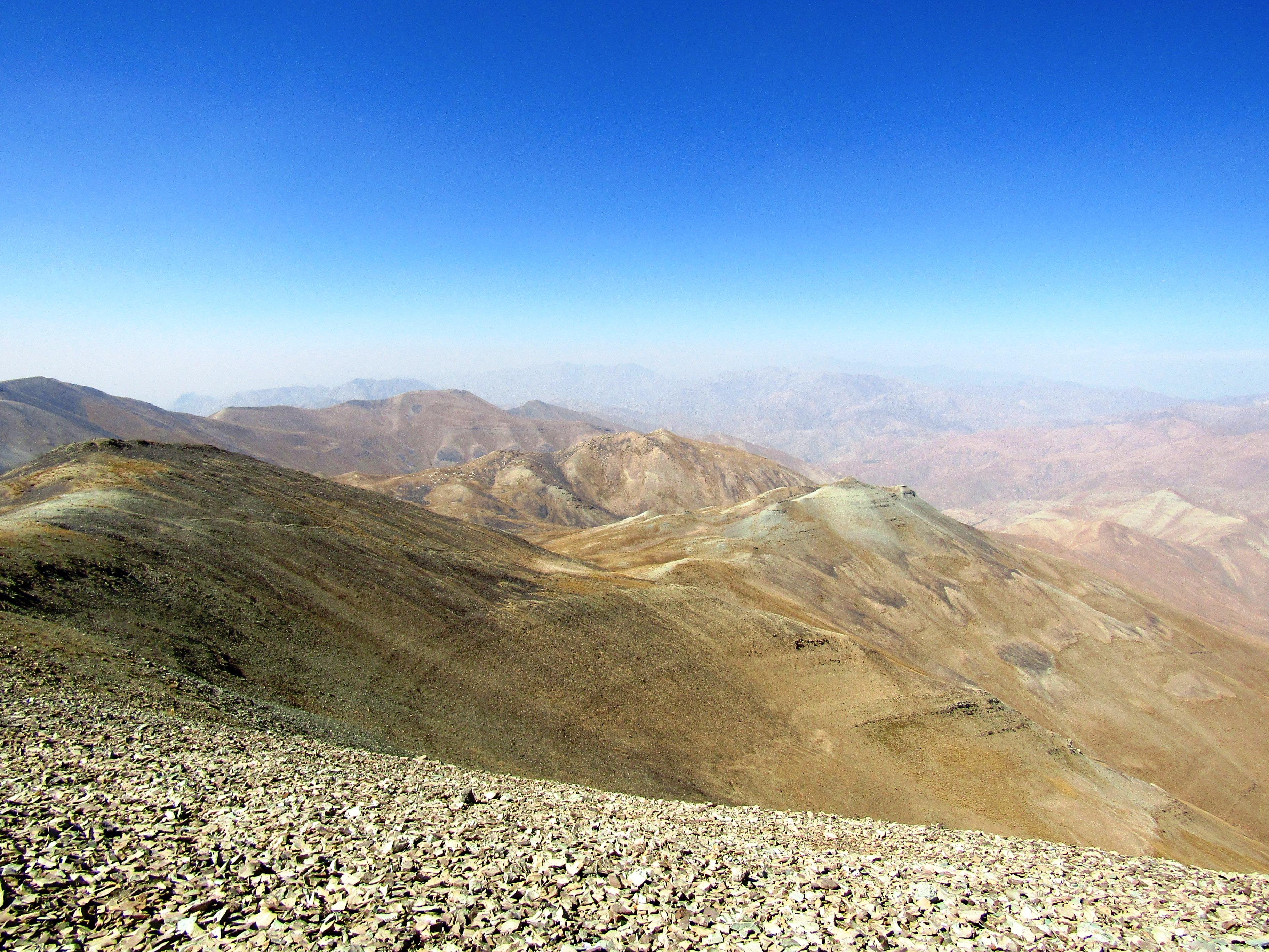 Walking around Mount Tochal (3,933 m)