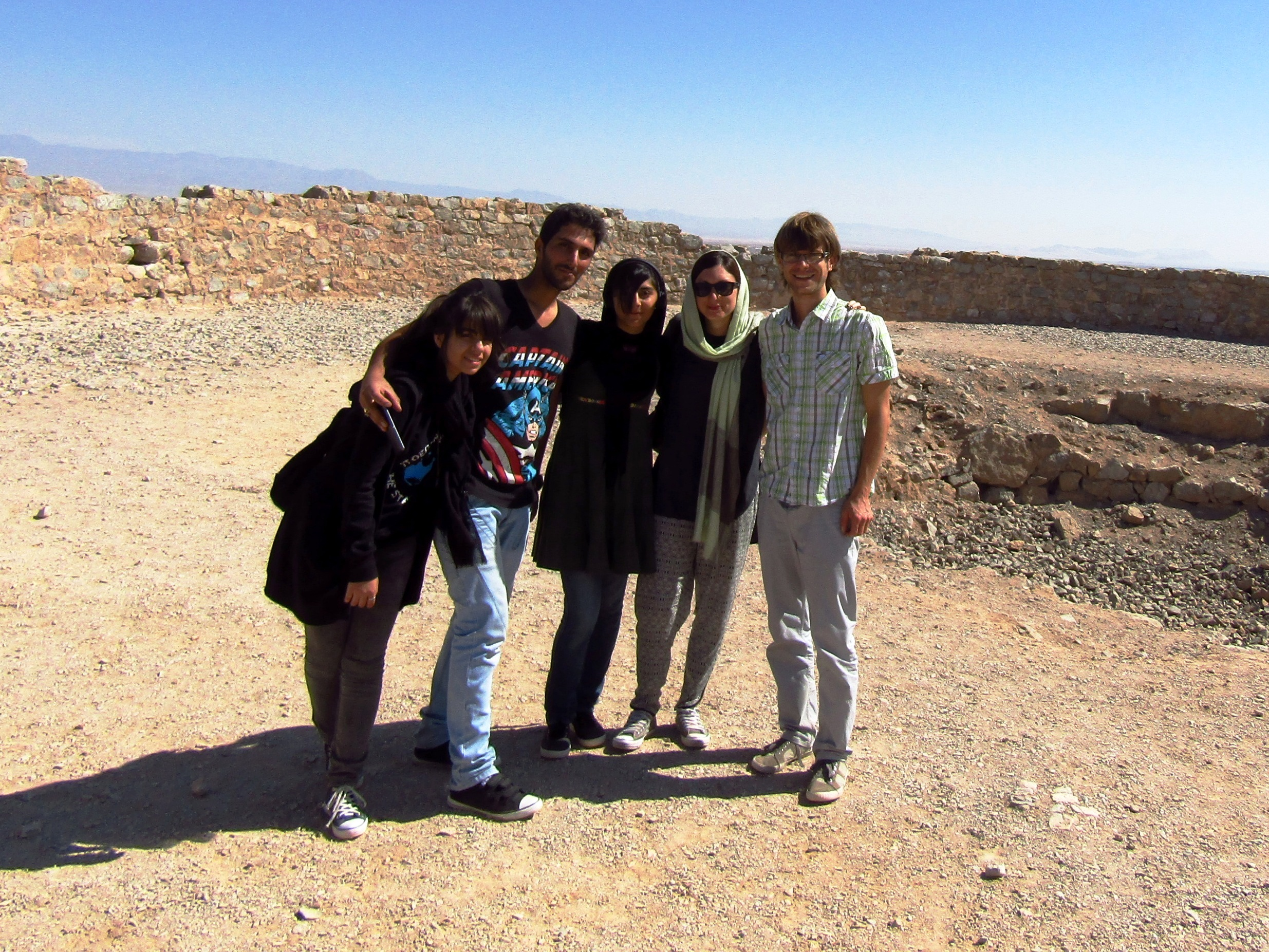 Sightseeing with Hani and his family in Yazd