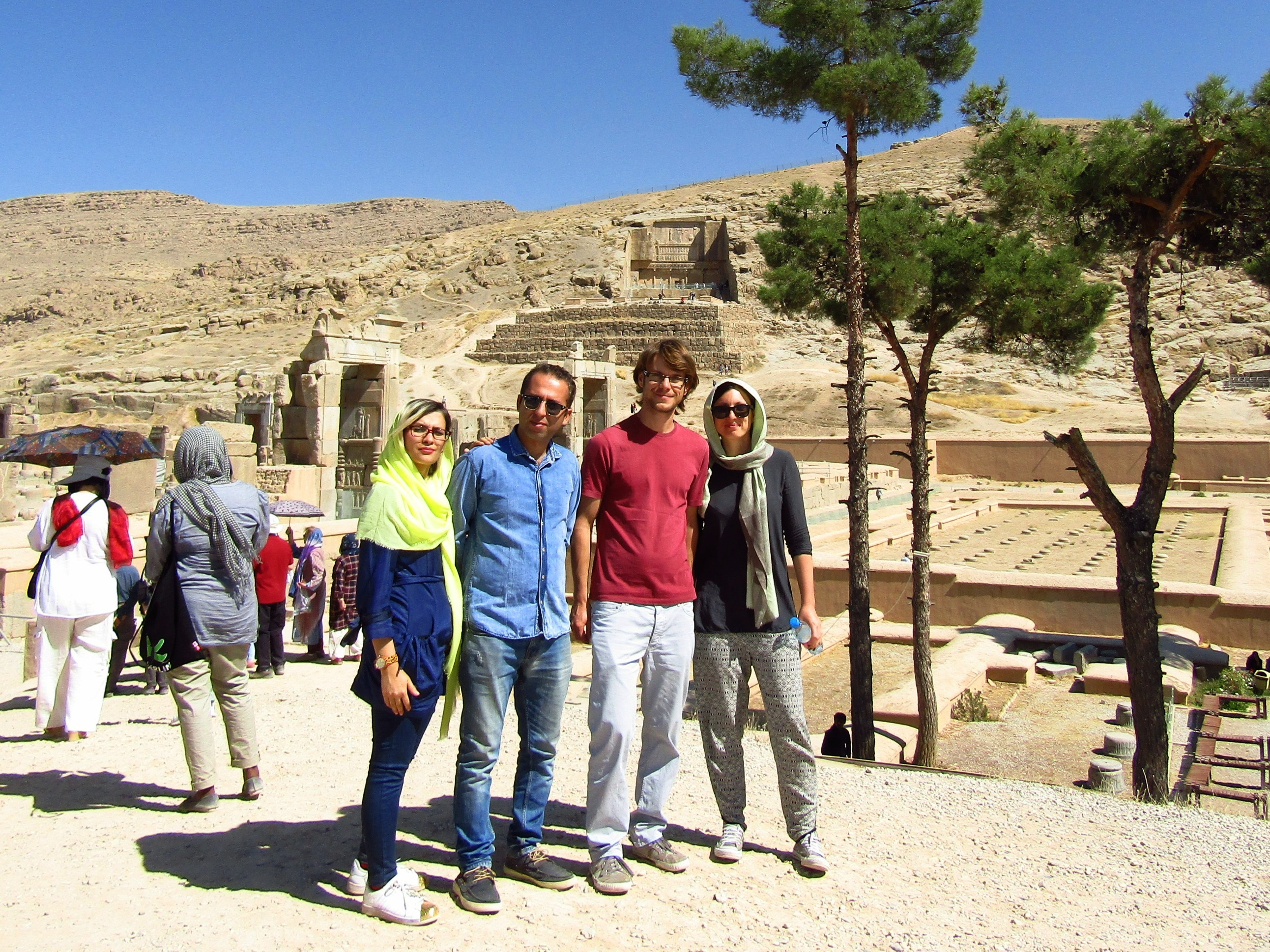 Day-tripping in Persepolis with Shiva and Mostafa