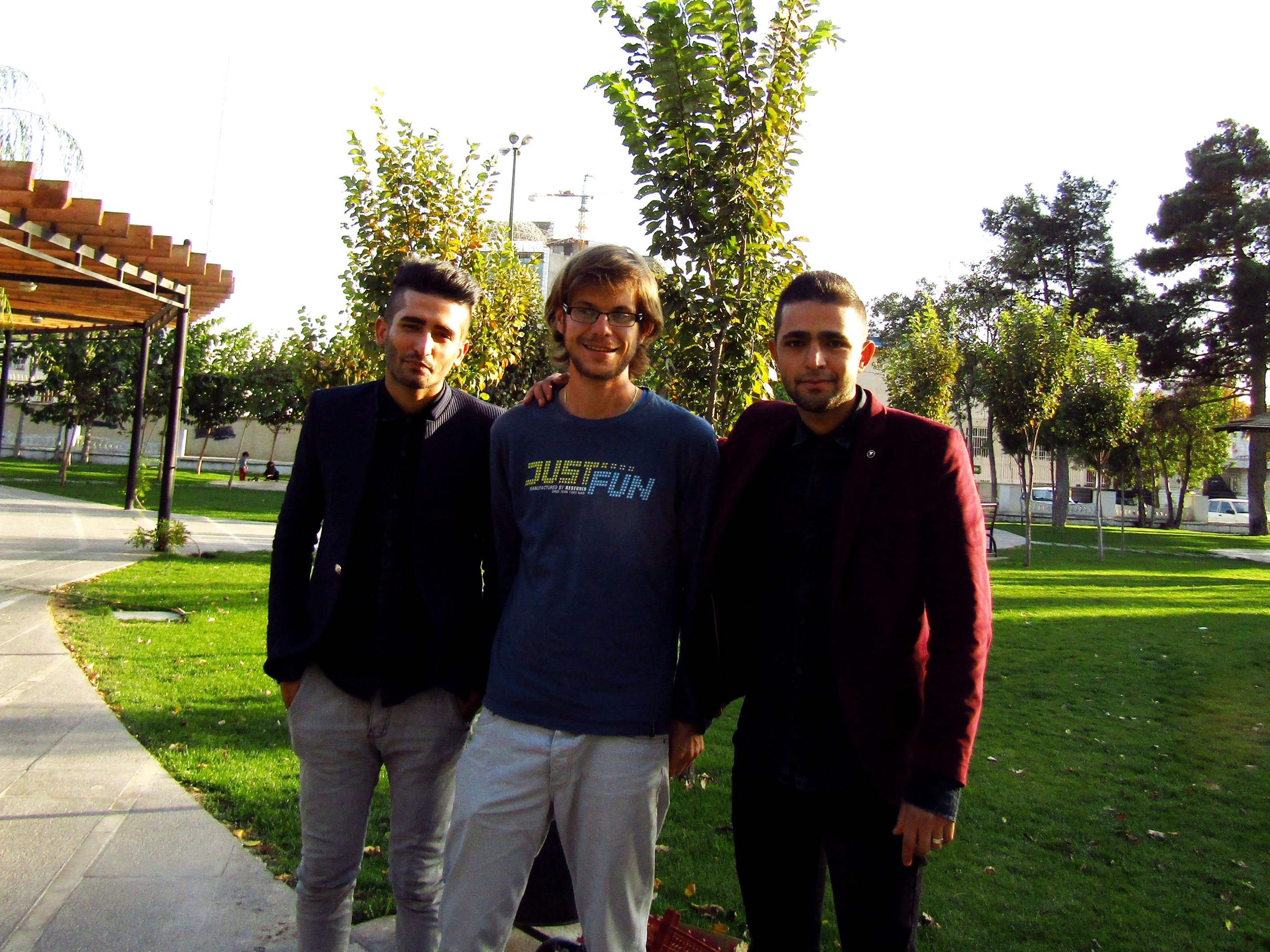 Not the first time locals wanted to take a picture with me [in Qazvin]